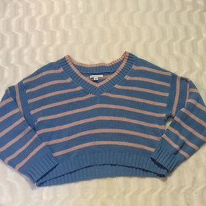 American Eagle crop sweater